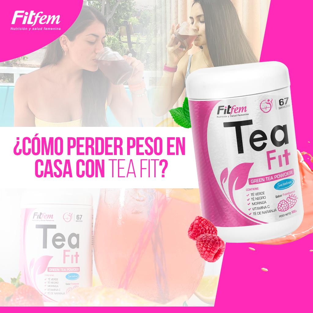 Foto de ¿Cómo perder peso en casa con Tea Fit?